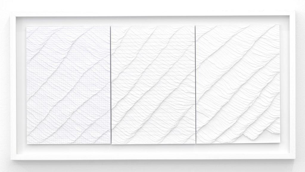 Ignacio Uriarte,Untitled (from the series Blocs), Décollage, je 29,7 x 21 cm, 2010. i8, Reykjavik