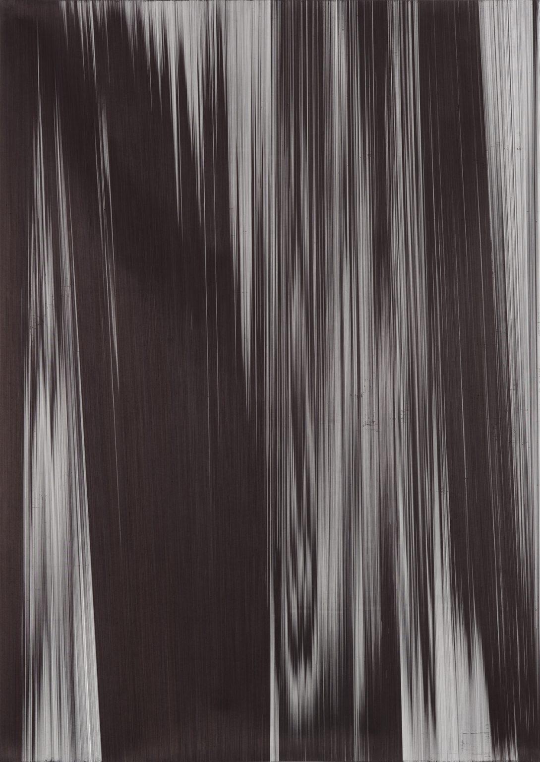 Caroline Kryzecki, KSZ 270/190–03,Kugelschreiber auf Papier, 270 x 190 cm,2018. Foto: Marcus Schneider