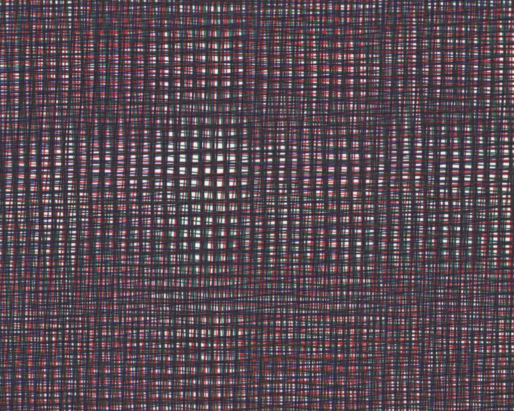Detail zu: Caroline Kryzecki,KSZ 100/70–40,Kugelschreiber auf Papier, 100 x 70 cm,2015