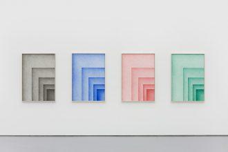 Ignacio Uriarte, DIN-System,Dokumentenechter Kugelschreiber auf Papier, je 116 x 84 cm, 2017. White Space Beijing
